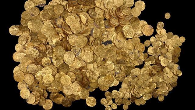 Tweeduizend jaar oude goudschat gevonden in Chinees graf