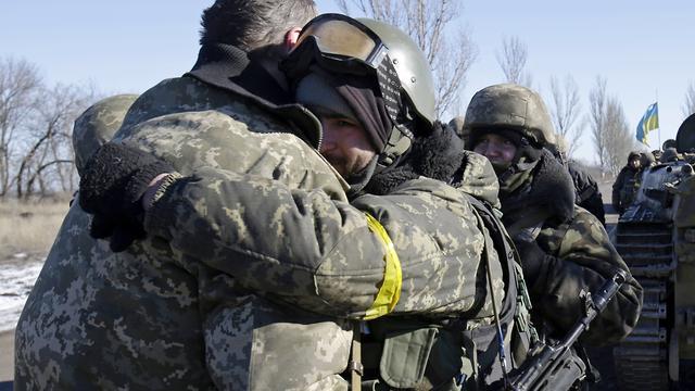 Drie Oekraïense soldaten gedood in één dag'