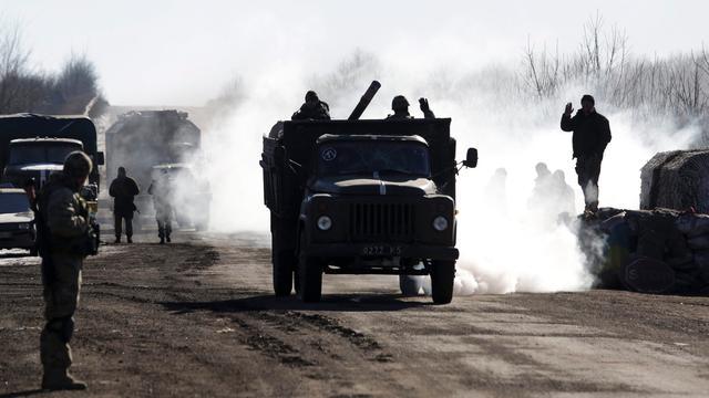 Wapenstilstand Oekraïne nog steeds geschonden