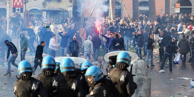 Rome en Rotterdam wisselen gegevens uit over rellen