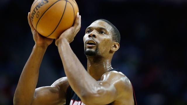 NBA-seizoen topspeler Bosh voorbij door longembolie