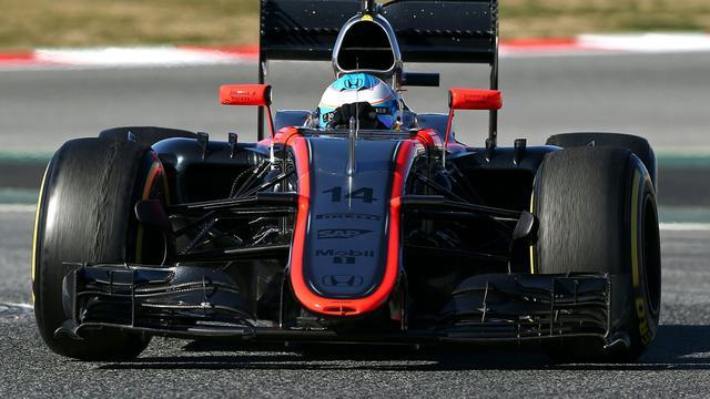 McLaren test in Barcelona aerodynamische en mechanische updates