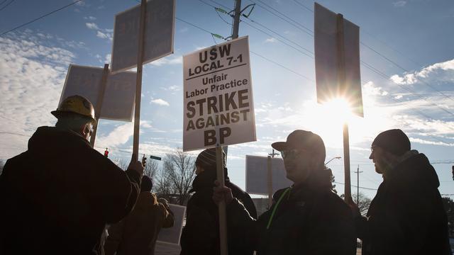 Vakbond breidt Amerikaanse oliestaking verder uit
