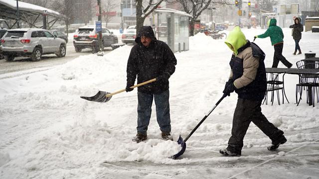 Opnieuw sneeuwstormen verwacht langs oostkust Verenigde Staten