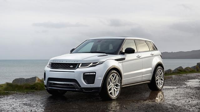 Land Rover presenteert Range Rover Evoque facelift