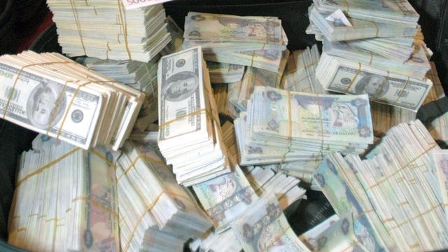 Het 'regent' geld in Dubai