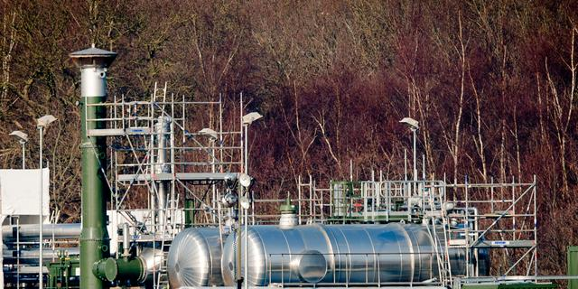 Lagere gasproductie drukt economische groei