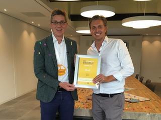 Betonbedrijf Bruil uit Ede mag zich dit jaar het Vitaalste Bedrijf van Gelderland noemen