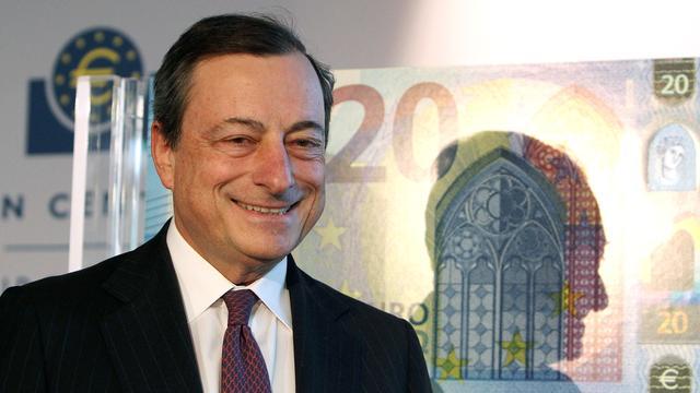 Draghi verwacht in oktober ECB-besluit over opkoopbeleid