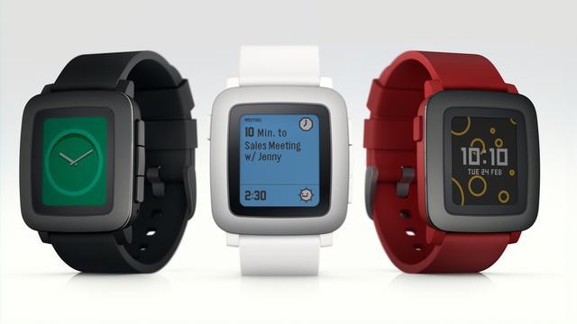 Pebble presenteert nieuwe smartwatch met e-ink-kleurenscherm