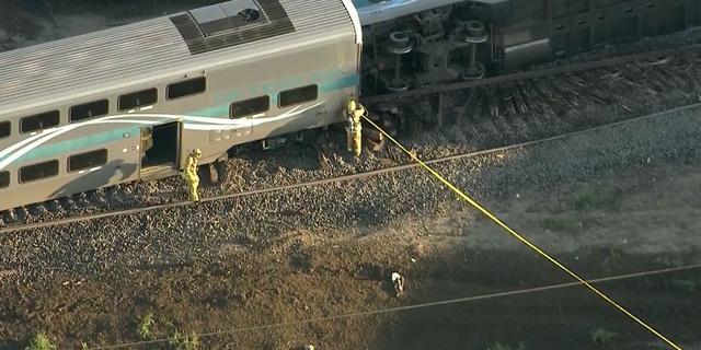 Ruim vijftig gewonden bij botsing met trein in Californië