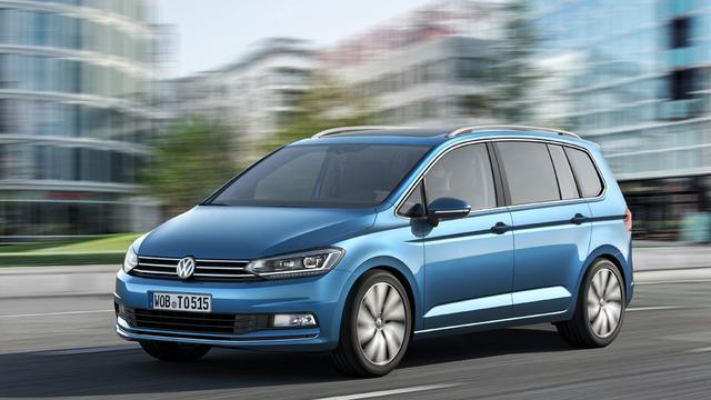 Volkswagen presenteert volledig nieuwe Touran