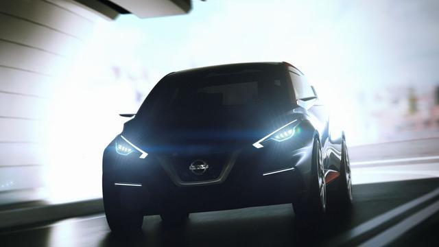 Nissan toont Sway Concept in Genève