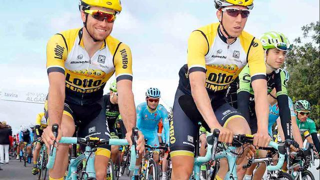 Lotto-Jumbo met vier Nederlanders in Omloop, Sky met Wiggins