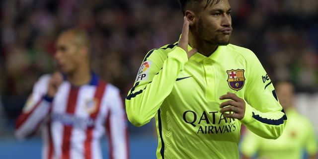 Neymar gaat confrontatie aan met City-fan