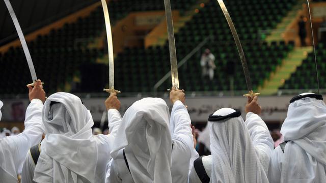 Gewonden na zwaardgevecht in hotel Dubai