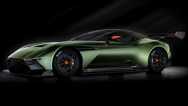 Aston Martin onthult racewagen Vulcan