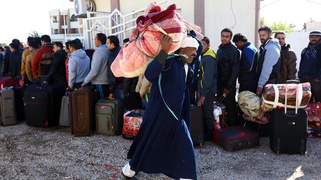 Egyptenaren ontvluchten Libië om dreiging IS