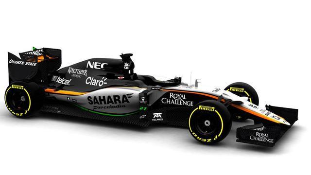 Force India wil vrijdag voor het eerst testen met nieuwe auto
