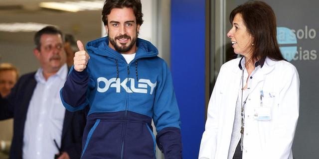 McLaren denkt dat Alonso inzetbaar is in openingsrace
