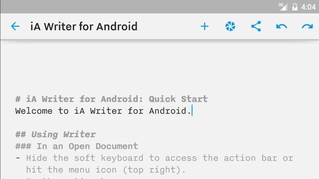 Populaire schrijf-app iA Writer uitgebracht voor Android
