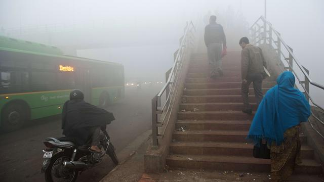 EU-diplomaten in Delhi krijgen schone lucht