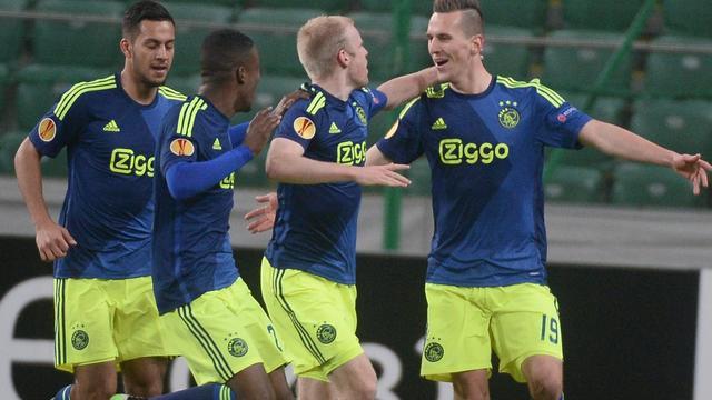 Ajax stuit op Dnjepr Dnjepropetrovsk in achtste finales Europa League