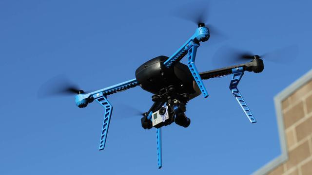 Drone weet voortaan zelf waar niet gevlogen mag worden