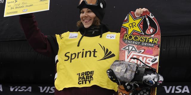 Snowboardster Maas pakt wereldbeker na vierde zege op rij