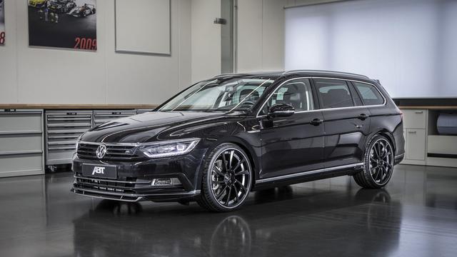 Abt voert Volkswagen Passat op
