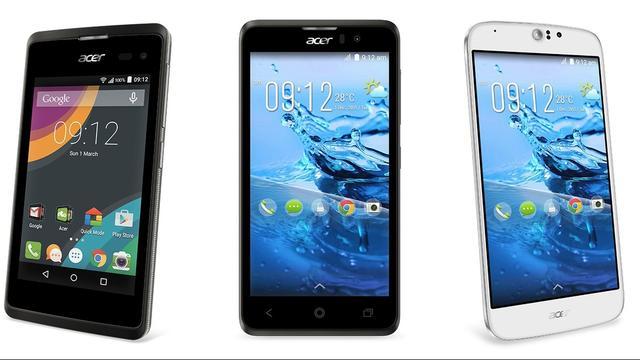 Acer kondigt goedkope Android-smartphone van 89 euro aan