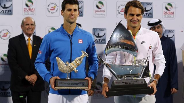 Federer klopt Djokovic en pakt titel in Dubai, Nadal in finale Buenos Aires