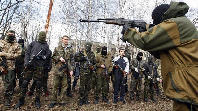 Rebellen Oekraïne willen autonomie vastleggen in de grondwet