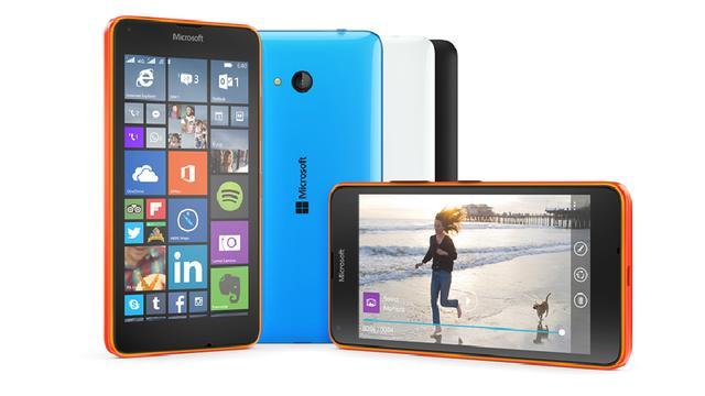 Microsoft presenteert budgettelefoons Lumia 640 en 640 XL