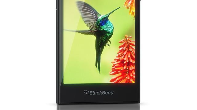 Blackberry introduceert 5 inch-smartphone Leap