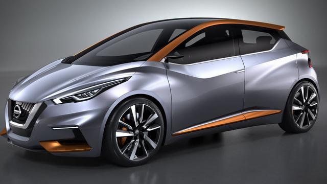 Nissan blikt met Sway Concept vooruit op nieuwe Micra