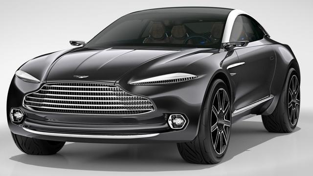 Aston Martin presenteert DBX Concept in Genève