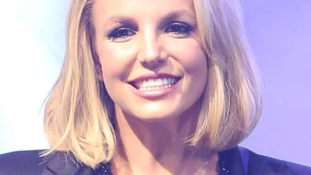 Britney Spears high door wietrokende concertgangers