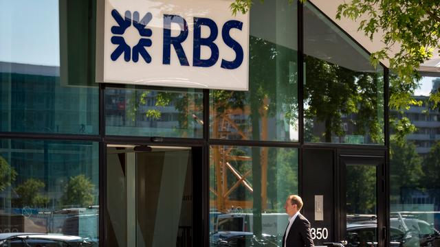 Royal Bank of Scotland zakt voor Britse stresstest