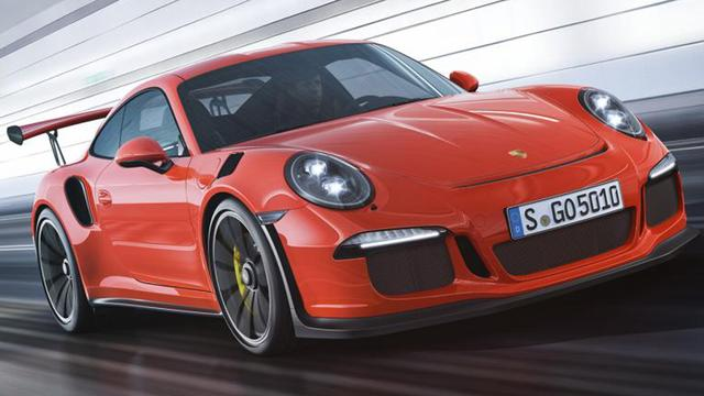 Porsche presenteert 911 GT3 RS