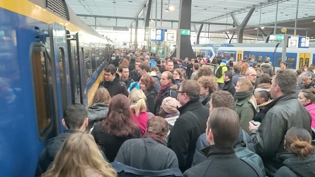 Werkzaamheden op het spoor rond Den Haag