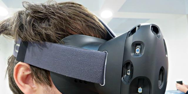 HTC stelt beschikbaarheid virtualrealitybril Vive uit