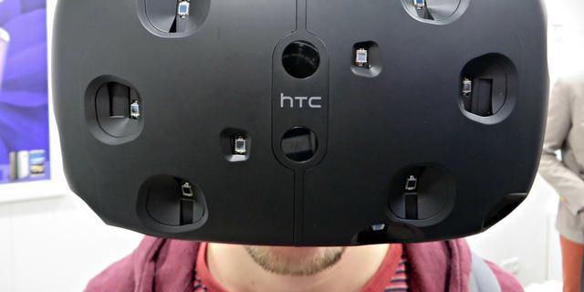 Eerste indruk: Spectaculaire HTC Vive maakt virtual reality nog realistischer