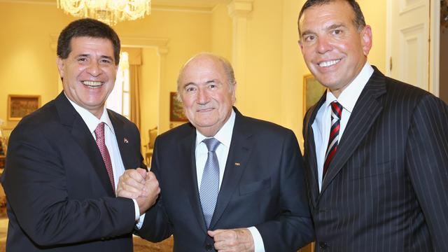 'Blatter kan ook rekenen op steun Zuid-Amerikaanse federatie'