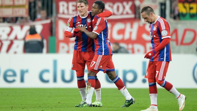 Robben en Dost met Bayern en Wolfsburg verder in DFB Pokal