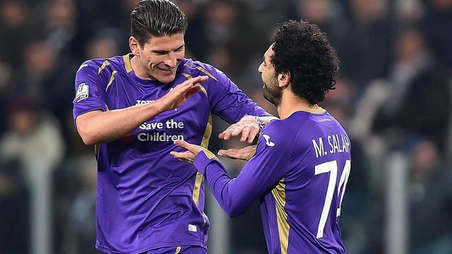 Fiorentina verslaat Juventus in halve finale Coppa Italia