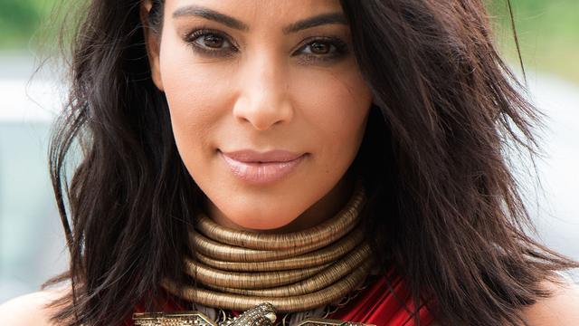 'Kim Kardashian ziet het leven weer positief in'