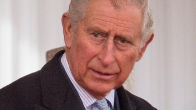Prins Charles begeleidt Meghan Markle naar altaar