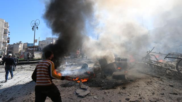 Amnesty noemt Aleppo 'hel op aarde'
