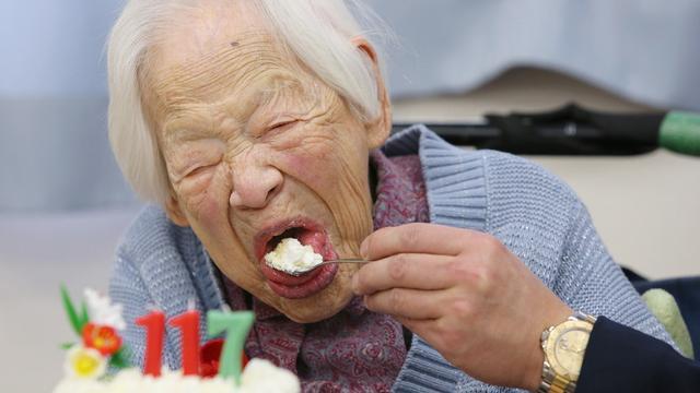 Oudste vrouw ter wereld viert 117e verjaardag